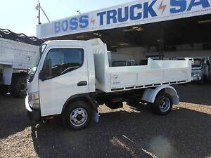 2009 Mitsubishi Canter Factory Tipper Rocklea Brisbane South West Preview
