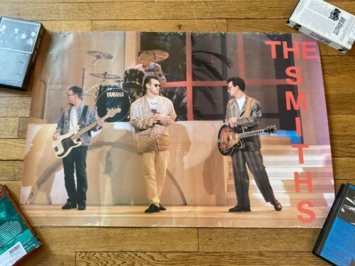 VTG RARE The Smiths Promo Poster Morrissey The Cure Punk Joy Division New Order