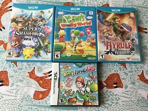 Wii U and DS Games (Check Description for Prices!)