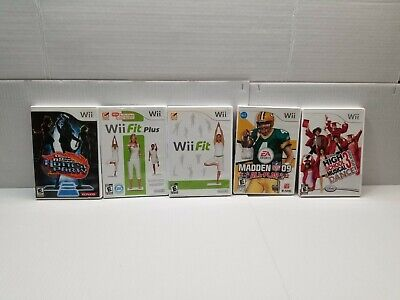 Nintendo Wii Game Lot 5 games