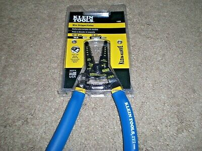 Klein Tools 11055 Klein Kurve Solid Stranded Copper Wire Stripper Cutter New