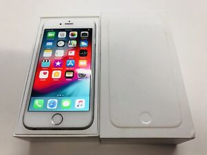 iPhone 6 128gb silver unlocked perfect working