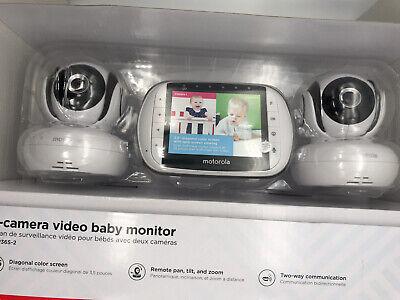 MOTOROLA  2 Camera Baby Monitor System