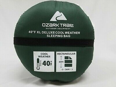 Ozark Trail XL Deluxe Cool Weather Sleeping Bag 80