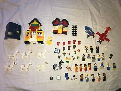 Special Lego Items and People in Bulk; Horses, Houses, Automobiles, and others
