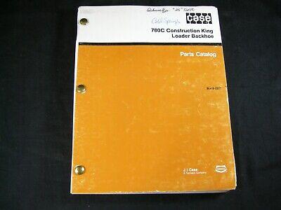 Case 780c Construction King Loader Backhoe Tractor Parts Manual Book Catalog Oem