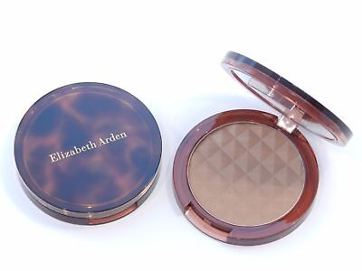 Elizabeth Arden Pure Finish Mineral Bronzing Powder MEDIUM  .30 oz 8.5g RARE - Medium Bronze Finish