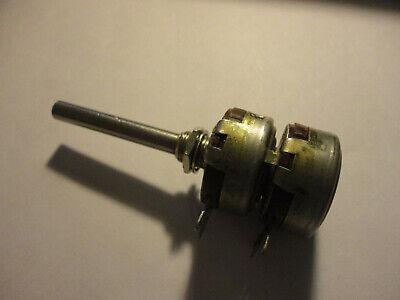 1pc. Dual Allen Bradley 500k1meg 2 Watt Linear Ab Potentiometer