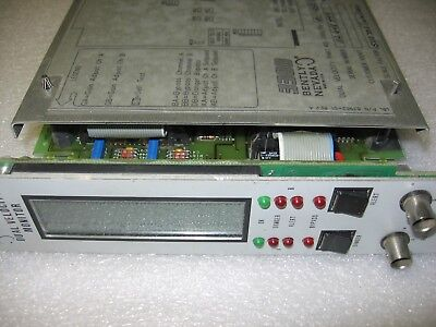 Bently Nevada 330055-01-02-02-02-01-01-01-00 Dual Velocity Monitor 0-1 Insec
