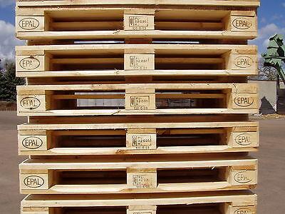 10er Set Europaletten 1. Wahl Palettenkissen Palettenmöbel Holzpalette Paletten