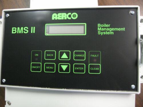 AERCO BMS 64053 5R5-384 BOILER MANAGEMENT PANEL