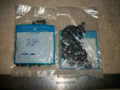 LOT OF 200- HEWLETT PACKARD 5082-4707 LED MOUNT CLIPS S