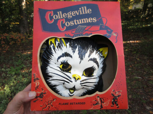 Vintage Collegeville Costumes Little Kitten Pussy Cat Child Small 3-5 years old