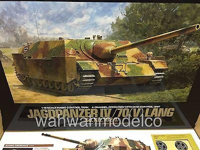 RC Jagdpanzer IV/70(V) Lang - Full Option Kit  [TAMIYA 1/16 R/C TANK KIT] 56039