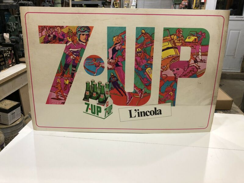 Affiche 7up Peter Max