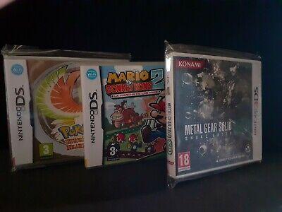 200 FUNDAS PROTECTORAS NINTENDO DS Y 3DS -POKEMON-METAL GEAR SOLID-MARIO .....