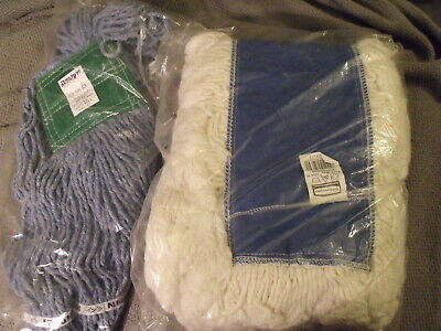 Pair Of Commercial Dust Mop Heads.