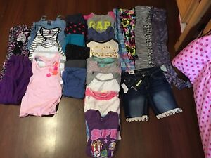Huge Lot of girls 10/12 clothes asking $25