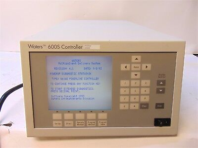 Waters 600s Hplc Controller Multisolvent Delivery System Wat055727 - S3850