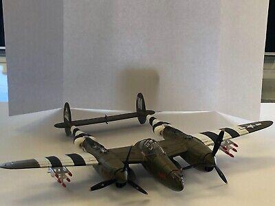 Matchbox P-38 Lightning Military Plane / Fighter Jet / Bomber Airplane