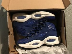 """Reebok question """"blue canvas"""" best offer takes them"""