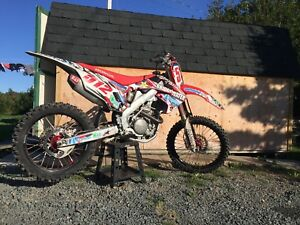 Crf250r Want gone before snow flies