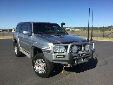 2005 Nissan Patrol GU Wagon TD Manual with the works