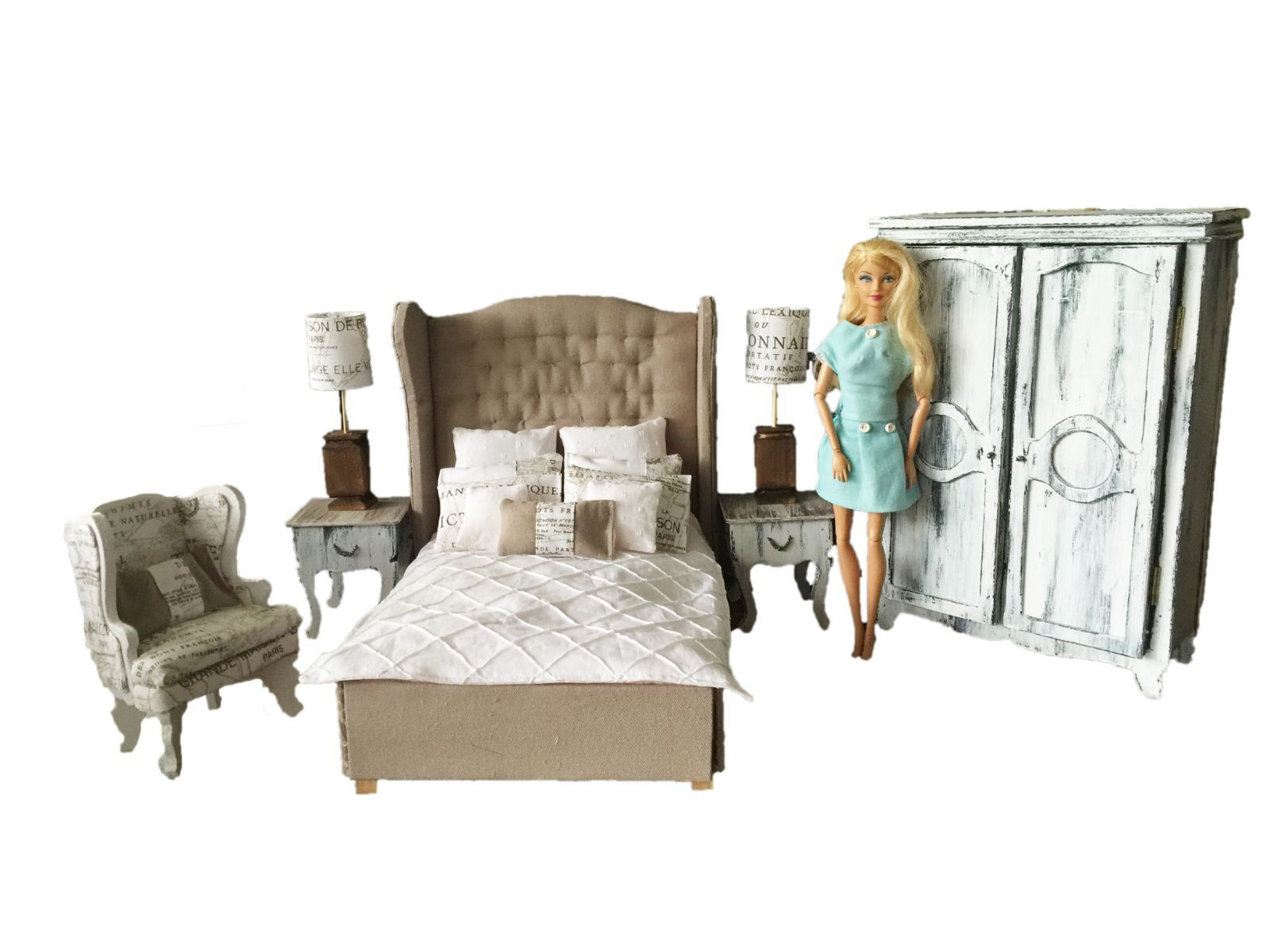 Furniture , Houses, Miniatures , Dolls, Bears