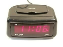 Vintage Little Sharp SPC001A Alarm Clock. Tested.