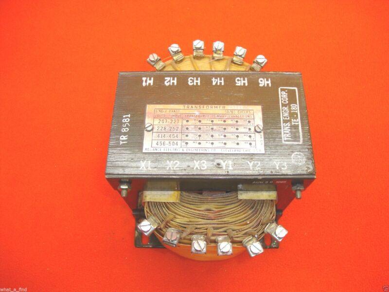 NEW Reliance Electric Transformer 69955-W 69955W TE-180