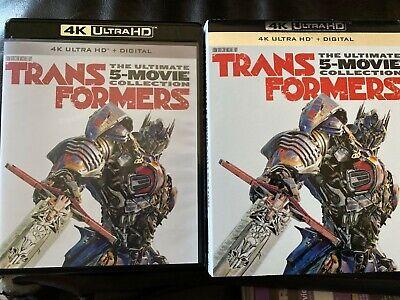 Transformers 5 movie collection  (4K UHD) No digital