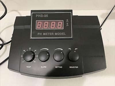 Lab Bench Precision Ph Meter Accuracy - 0.05 Desktop