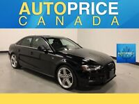 2015 Audi A4 2.0T Progressiv plus S-LINE|NAVIGATION|MOONROOF|