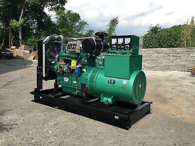 Brand New 30kw Single Phase 60hz50hz Diesel Powered Generator Shipped By Sea