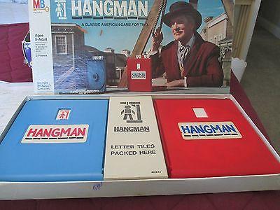 Vintage Board Game Hangman  1976