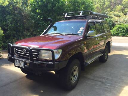 TOYOTA LANDCRUISER GXL 1999 WAGON (NEW MOTOR ONLY DONE 55000KM)