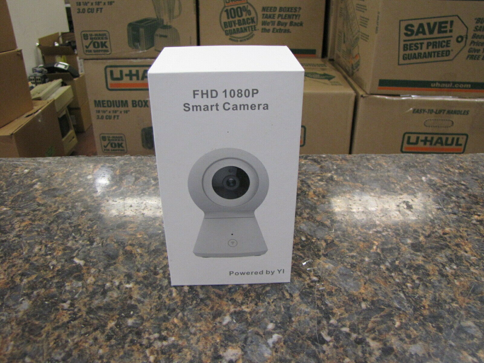 NEW YI Smart Camera FHD 1080p PTZ Wireless Wi-Fi Cloud Night