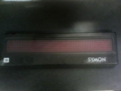 Symon Digital Light Display Board Sign 2 X 18 Screen