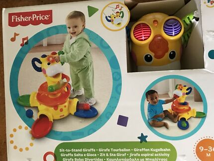 NEW FISHER PRICE SIT AND STAND GIRAFFE RRP$90