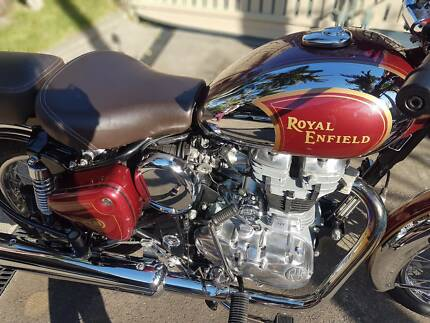 Royal Enfield C5 Classic Chrome - LOW KMs, 12M REGO, FULL SPARES