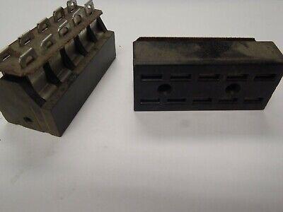 Cinch Jones Socket Female S-410-lab Panel Mount Bracket 10 Pin Connector Fs