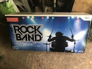 Rock Band drum set for Wii