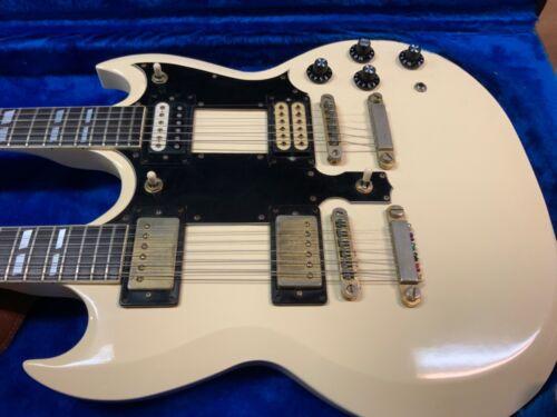 Ibanez deluxe 6/12 double neck electric guitar 1970s model