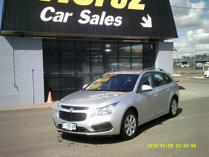 2015 HOLDEN CRUZE AUTO WAGON Launceston Launceston Area Preview
