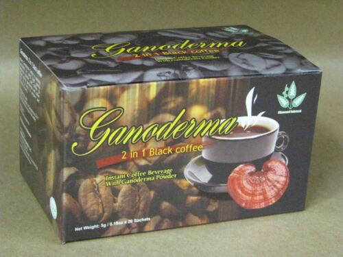 Ganoderma Coffee 2-1 Classic Black Healthy Coffee - 1 Box (20 pks)
