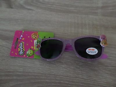 SHOPKINS CLAIRES GIRLS AND WOMANS PINK GLITTER SUNGLASSES BNWT XMAS GIFT