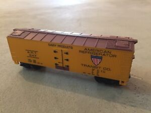 American refrigerator transit co. Diecast train car/ train wagon