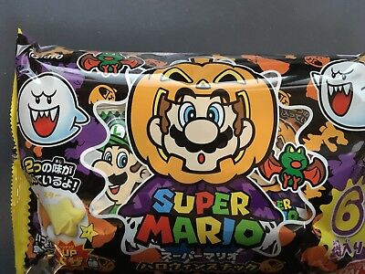 Super Mario Halloween Snack 6pack set pizza taste