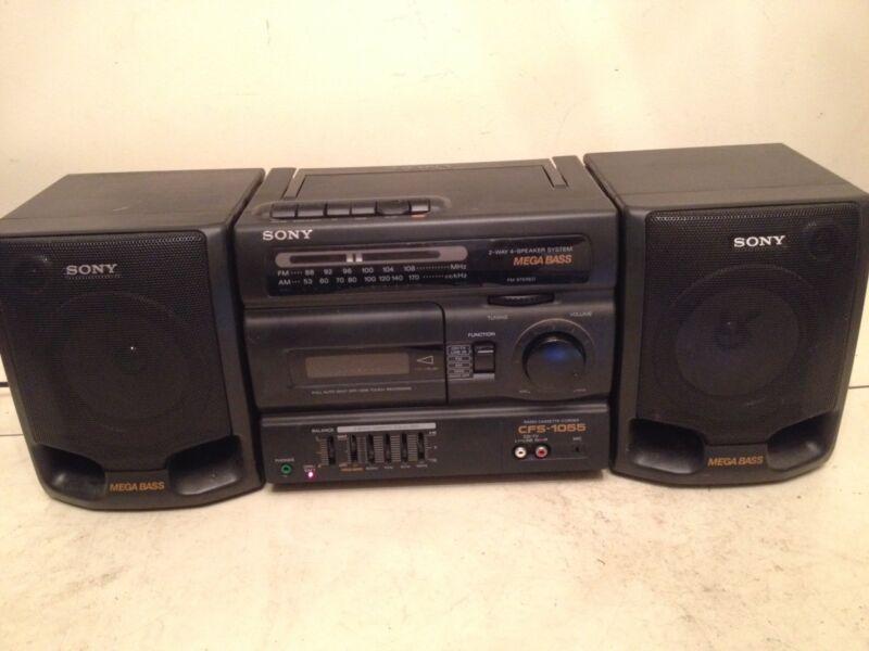 Sony CFS-1055 Radio Cassette Corder