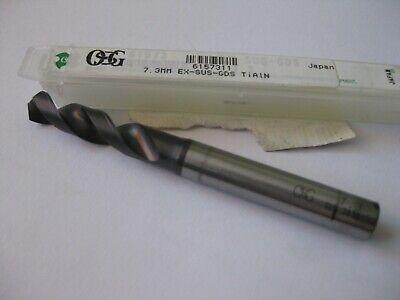 Osg Stub Drill 7.3mm X 3-18 Oal Ex-sus-gds Tialn Finish Japan